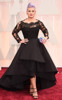 Kelly Osbourne at the 87th annual Academy Awards