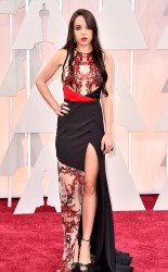 Lorelei Linklater at the 87th annual Academy Awards