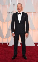 Michael Keaton at the 87th annual Academy Awards