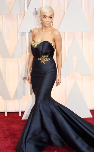 Rita Ora at the 87th annual Academy Awards