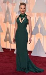 Scarlett Johansson at the 87th annual Academy Awards