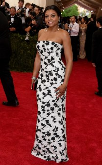 Taraji P. Henson at the 2015 Met Gala on May 4, 2015 at the Costume Institute Benefit Gala at the Metropolitan Museum of Art in New York.