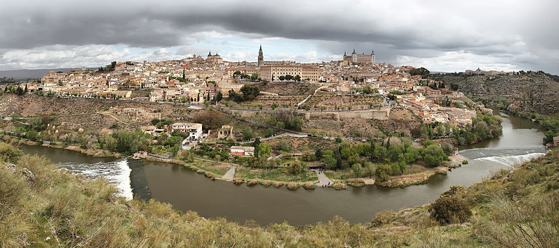 TERRIFIC VIEWS OF THE IMPERIAL CITY OF TOLEDO