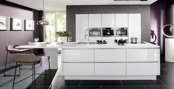 quelle couleur pour votre cuisine equipee cuisine blanche cuisine rouge noire ou orange le blog deco cuisine