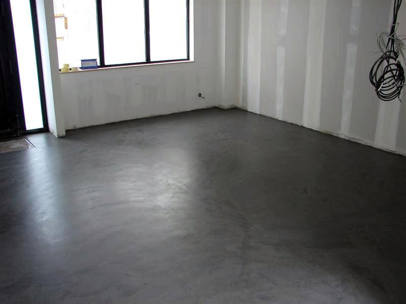 le beton cire est un revetement de sol tres