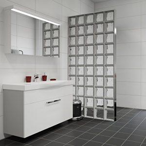 Briques de verre  prix dun mur au m2 pose et fourniture comprises