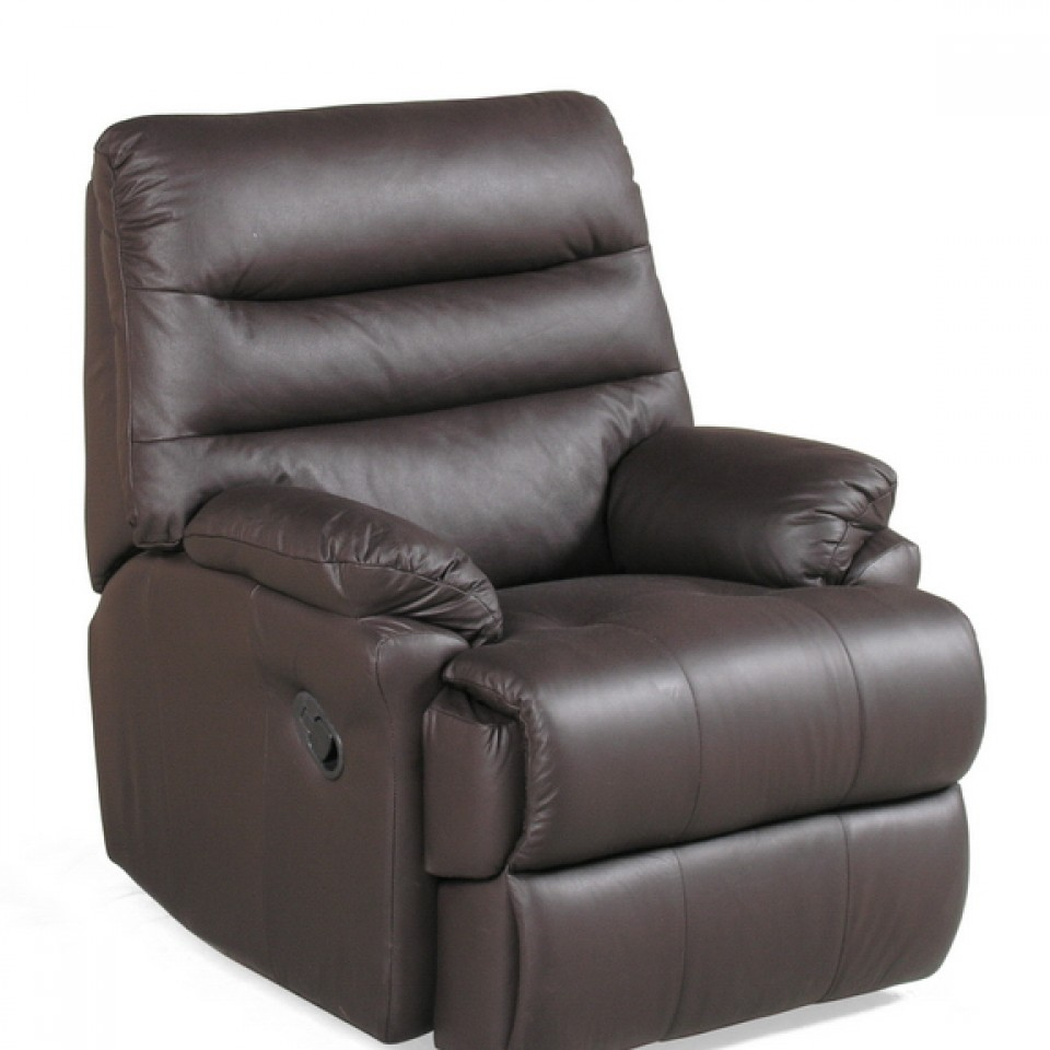 Leather Reclining Chairs Alba Leather Recliner Chair
