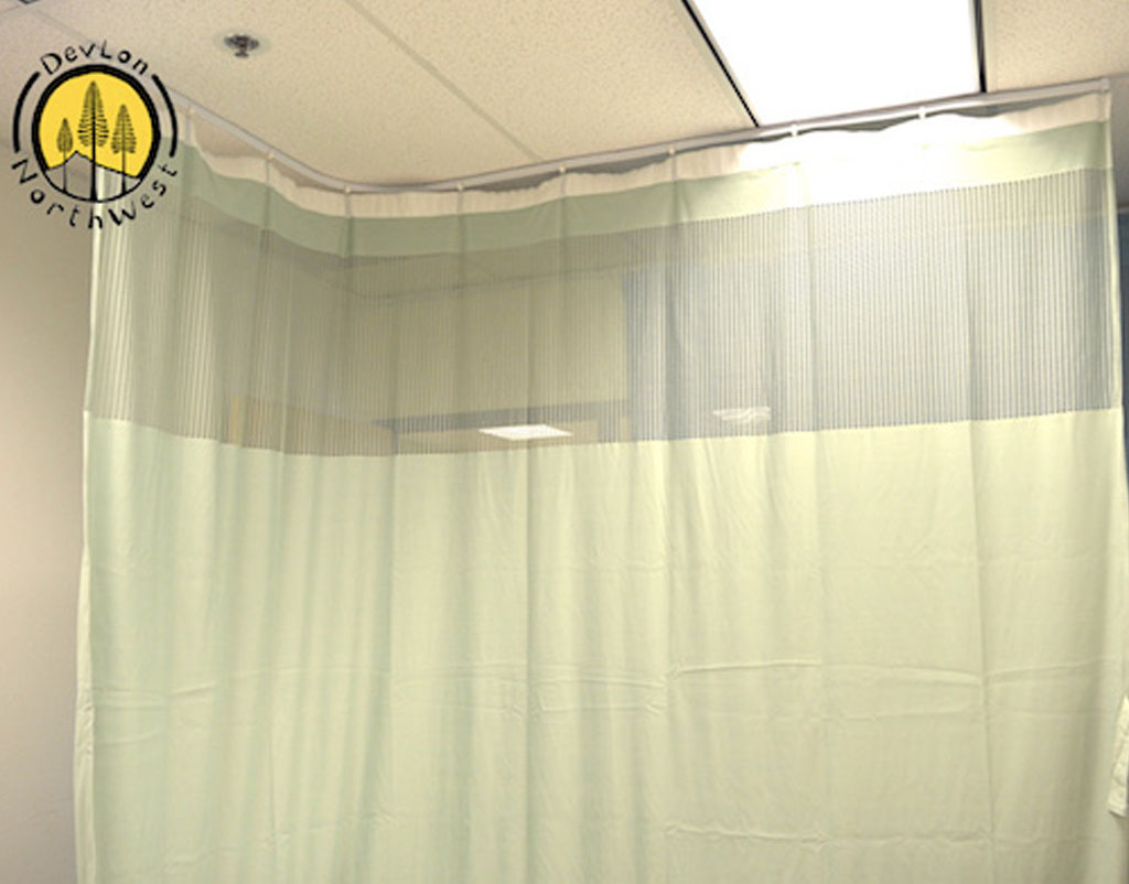 Medical Curtains Privacy Hospital Cubicle Curtain 10 X 9 3 Light Green Devlon Northwest