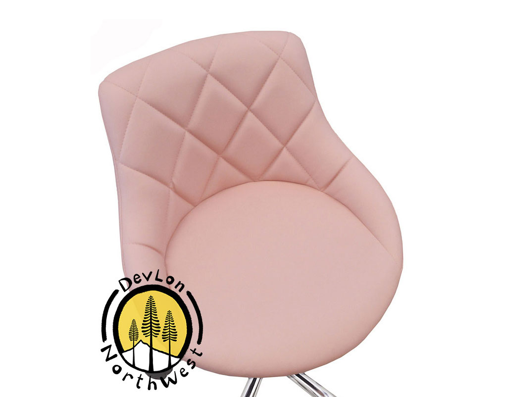 pink nail salon chairs folding chair blind pedicure manicure medical adjustable swivel rolling stool light