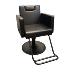 Salon Chairs For Cheap Portable Beach Chair With Umbrella Devlon Northwest Black Reclining Hydraulic Barber Styling Work Station Shampoo