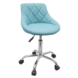turquoise_rolling_stool_back_rest_1