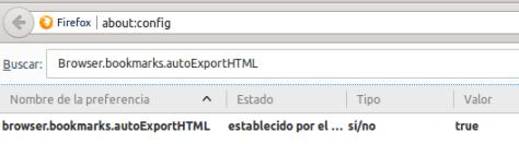 Firefox bookmarksautoexport