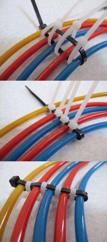 RJ45 cable management