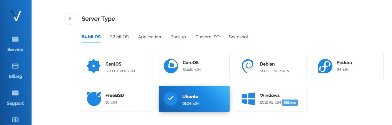 Select a Linux Distribution