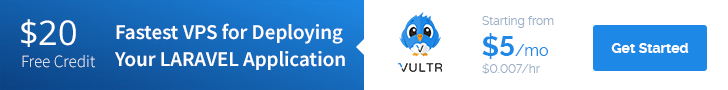 Sign up with Vultr and get $20 in Free Credit