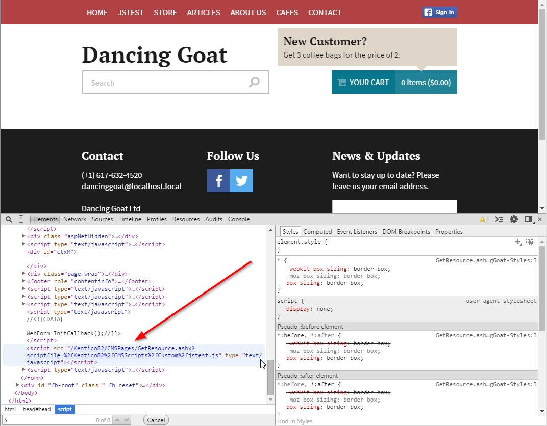 Understanding the JavaScript webpart