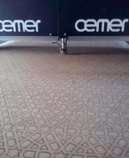 Realización en la máquina de corte por láser