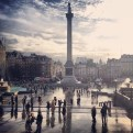 Trafalgar Square-London, England