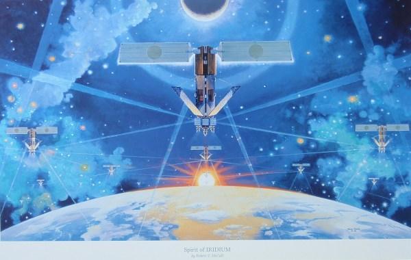 Iridium Satellite Constellation Therefiner'sfire