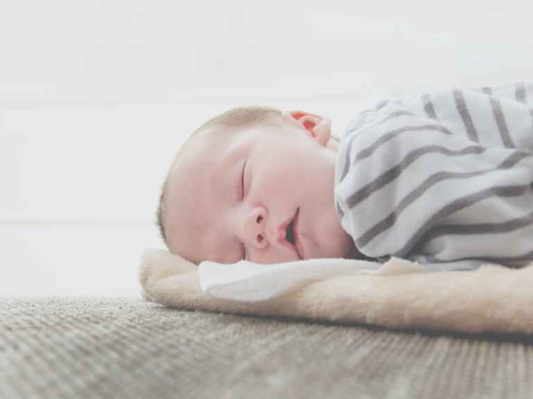 close up photo of sleeping baby