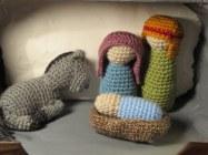 Amigurimi Nativity