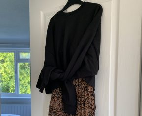 Cropped Long Sleeve Jumper Mila Femme Luxe Finery