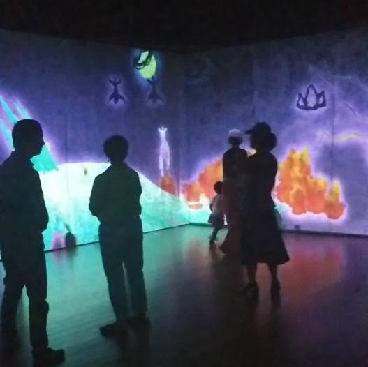 interactive art exhibit