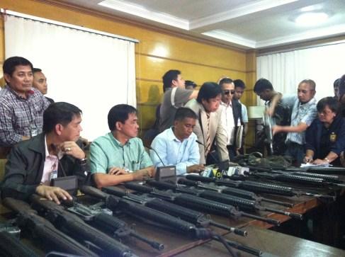 Manila press conference