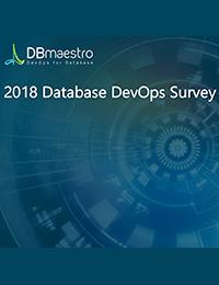 2018 Database DevOps Survey