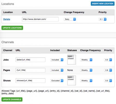 Sitemap Module  Devotee  Devoted To Expressionengine