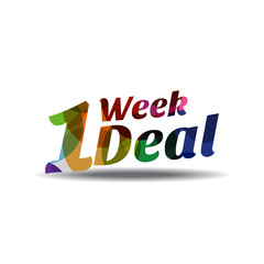 1 Week Only Deal