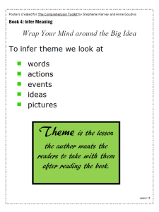 Wrap Your Mind around the Big Idea