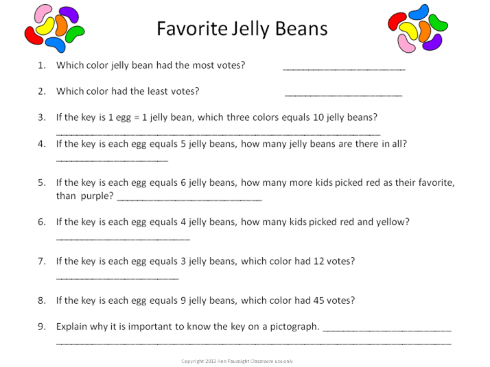 Favorite Jelly Beans Questions