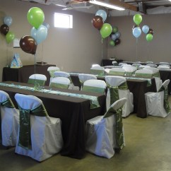 Chair Covers Sage Green Ball For Back Pain Willow Baby Deer Theme Shower   Devoted Weddings And Events