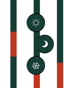 Icones de chauffe
