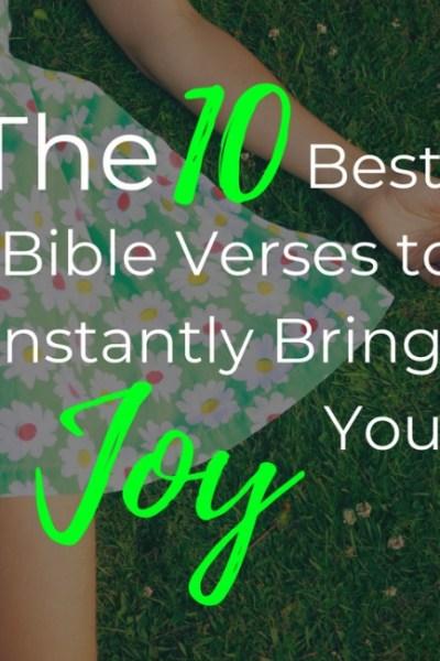 Bible Verses on Joy
