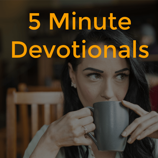 5 minute devotionals cover