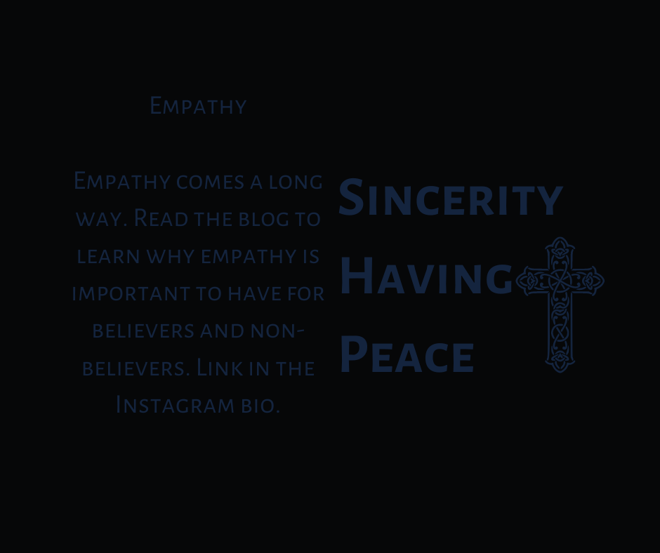 Empathy is Important