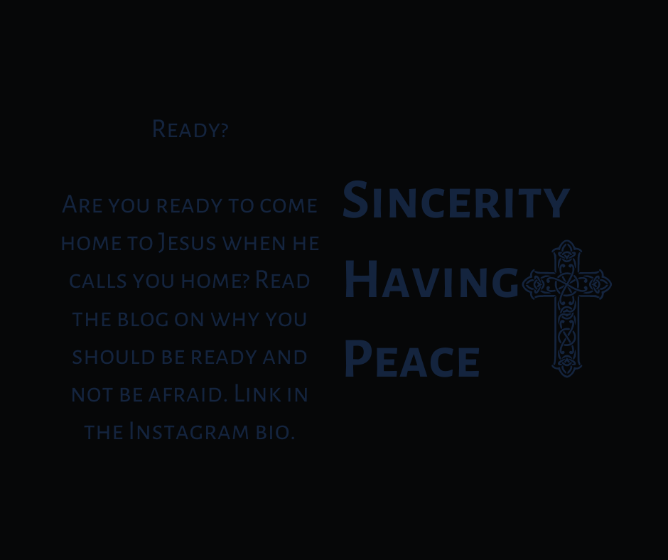 Ready for Jesus?