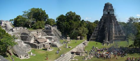 800px-Tikal-Plaza-And-North-Acropolis by Bjorn Christian Torrissen for wikipedia GNU license