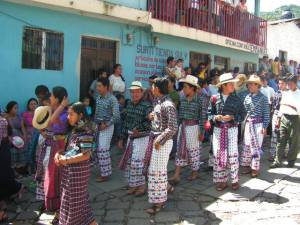 Guatemalan style weaving and tapestry Wikipedia public domain