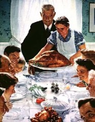 http://en.wikipedia.org/wiki/File:Freedom_from_want_1943-Norman_Rockwell.jpg