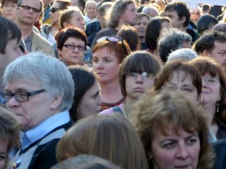 Crowd of people - Wikimedia - Creative Commons Attribution-Share Alike 4.0 International license.