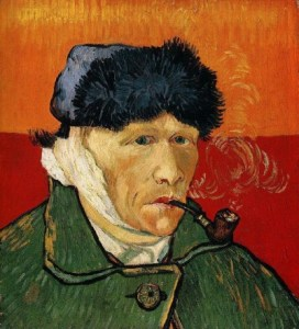 https://commons.wikimedia.org/wiki/File:Vincent_van_Gogh_-_Self_Portrait_with_Bandaged_Ear_and_Pipe.jpg