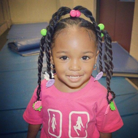 20 Cute Hairstyles For Little Black Girls