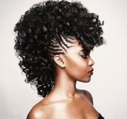 mohawk hairstyles black