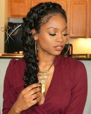 black braided hairstyles hair