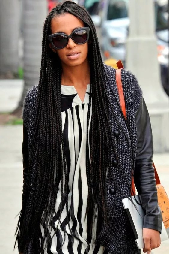 African Braids Hairstyle