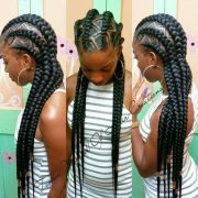 hip and beautiful ghana braids