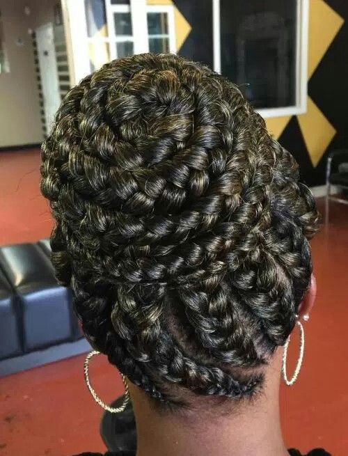 Individual Braids Hairstyles Pictures